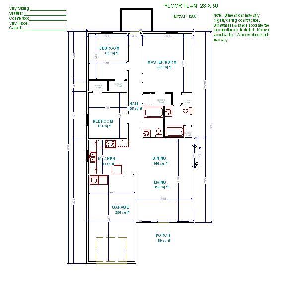 Shotgun house plans 20 x 60 joy studio design gallery for 50 x 60 garage plans
