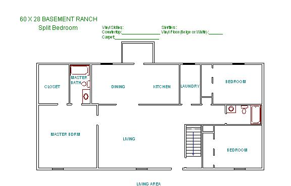 New page for Raised ranch floor plan